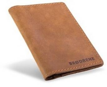 Cienki męski portfel skóra Brodrene SW01 JB SW01 JB