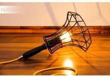 Zava Luce Oświetlenie Zavaluce Lady Cage lampa podłogowa Czarny, 1-punktowy Lady Cage-schwarz_gelb