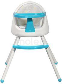 KinderKraft TUTTI 4 w 1 Blue krzesełko do karmienia