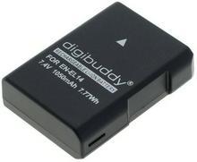 NIKON Bateria digibuddy EN-EL14 EN-EL14a D3100 D3200 D3300 D3400 D5100 D5200 D5300 D5500 D5600 CoolPix P7000 P7100 P7700 8011931