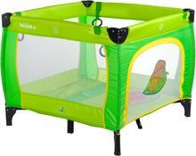 Caretero Quadra Green łóżeczko turystyczne