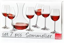 Rona Zestaw do wina Sommelier 1+6