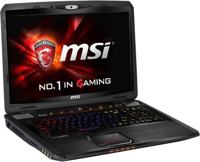 "MSI GT70 2QD-2434XPL 17,3"", Core i7 2,5GHz, 8GB RAM, 1000GB HDD (GT70 2QD-2434XPL)"