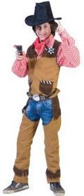 Funny Fashion Przebranie karnawałowy Cowboy 402064