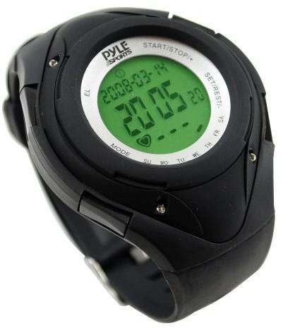 PYLE AUDIO INC Pyle Puls zegarek z minimalnym przeciętnego strefy tętna licznik kalorii i miejsca docelowego PHRM38