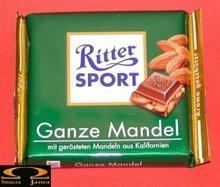 Ritter Sport Ganze Mandel 100g