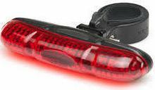 Mactronic Lampa rowerowa tylna 5 LED / światło czerwone FE-5TL