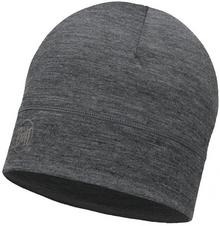 Buff Czapka z wełny Merino - Solid Grey (113013.937.10.00)