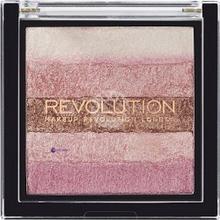 Makeup Revolution Vivid Shim Brick bronzer do twarzy Pink Kiss 13g
