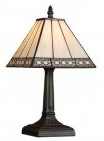 Prezent Lampa stołowa witrażowa TIFFANY 1X40W E14 92