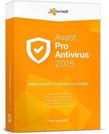 Alwil Software avast! Pro Antivirus 2015 (3 stan. / 1 rok) - Nowa licencja
