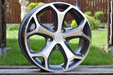 Racing Line 16'' 5X108 FOCUS II MONDEO BMAX CMAX SMAX 16X6.5 5X108 ET50-52.5 63.4 BK386 MG For car Ford