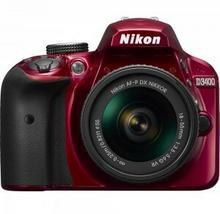 Nikon D3400 + AF-P 18-55 VR czerwony