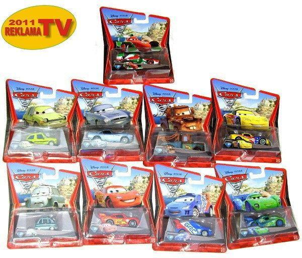 Mattel CARS 2 Samochodziki 7 cm