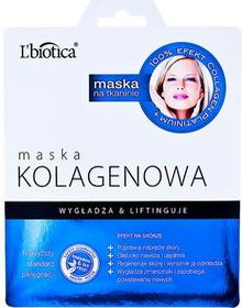 Lbiotica Maska na tkaninie kolagenowa 23ml