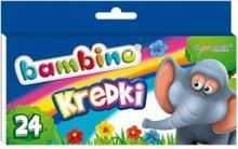 St. Majewski Kredki świecowe Bambino 24 kolory ST-BXX-P24X-160-STX