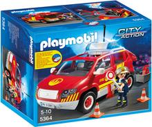 Playmobil Pojazd Komendanta Straźy Poźarnej 5364