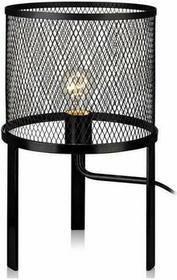 Markslojd Lampa stołowa GRID 106055 metalowa OPRAWA druciana LAMPKA do sypialni