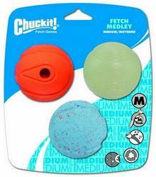 Chuckit! Fetch Medley Medium 3pak [520520]