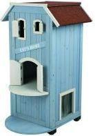 Trixie Budka dla kota. 56x94x59 cm Niebieski