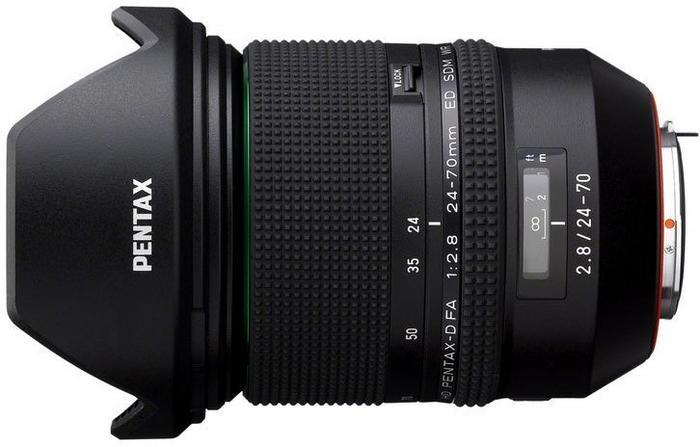 Pentax HD FA 24-70mm f/2.8 ED SDM WR