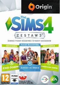 EA Games DIGITAL The Sims 4 Zestaw Dodatków 3 PL ORIGIN