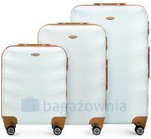 Wittchen Zestaw walizek 56-3A-23S-88 Białe - biały 56-3A-23S-88