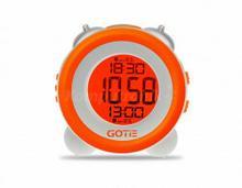Gotie Budzik elektroniczny z mechanicznym dzwonkiem Wake Up Clock GBE-200P