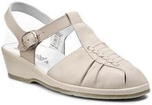 Comfortabel Sandały - 710704-8 Beżowy skóra - licowa