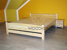 Woodica Łóżko Karlo 200x200