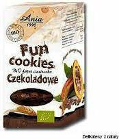 Ania FUN COOKIES CZEKOLADOWE 120G 5903453004777