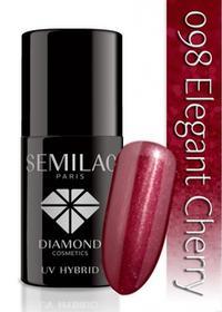 Semilac Lakier hybrydowy 098 Elegant Cherry