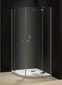 Sanplast Free Line 90 KP4/FREE-90 90x90 profil srebrny błyszczący szkło W16 600-260-0031-42-211