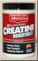 American Muscle Creatine Monohydrate 250 g