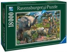 Ravensburger Puzzle 18000 el Przy Wodopoju 7765-uniw