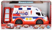 Dickie Ambulans Biało Czerwony 33 cm 3308360