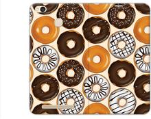 Etuo.pl Flex Book Fantastic - Xiaomi Redmi 3S - etui na telefon Flex Book Fantastic - donuts ETXM383FBFCFB071000