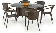 Zestaw mebli ogrodowych stół Master i krzesła Midas