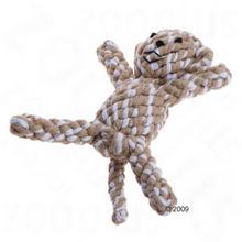 Bitiba a Zabawka dla psa bawełniany zwierzak - Małpka