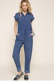 Pepe Jeans Kombinezon Hazel PL230165 niebieski