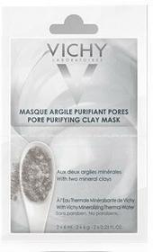 Vichy Maska oczyszczająca pory, z glinką, 2 saszetki x 6 ml