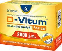 Oleofarm D-Vitum Forte 2000 36 szt.