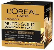 Loreal NUTRI-GOLD Olejkowy rytuał Odżywczy Krem-olejek 50ml