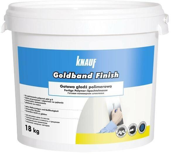 Knauf Gładź gotowa Goldband Finish 18 kg