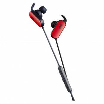 JVC HA-EBT5R Czarno-czerwony