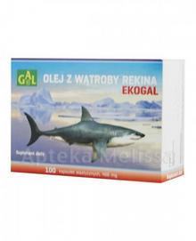 Gal SPEC.PRZED.ROL.-PROD S.C EKOGAL Olej z wątroby rekina 466 mg 100 kaps 3687611