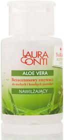 Laura Conti Bezacetonowy zmywacz o zapachu aloesu