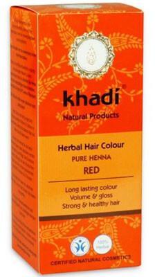 Khadi henna naturalna czerwona