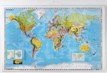 Mapa Świata laminowana 137x89 marki NAGA 16001