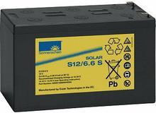 EXIDE Sonnenschein Akumulator ołowiowy 6,6 Ah, sucha bateria słoneczna S12/6,6S